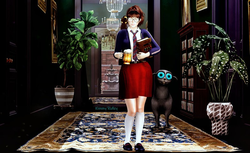 """""""Whoa! The wizardry school in North America was actually co-founded by a muggle!"""" - Trish"""