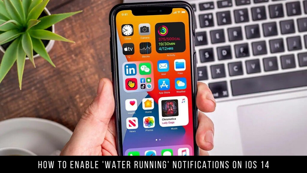 How to Enable 'Water Running' Notifications on iOS 14