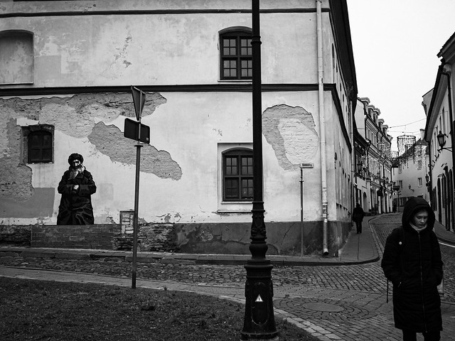 Vilnius streets.