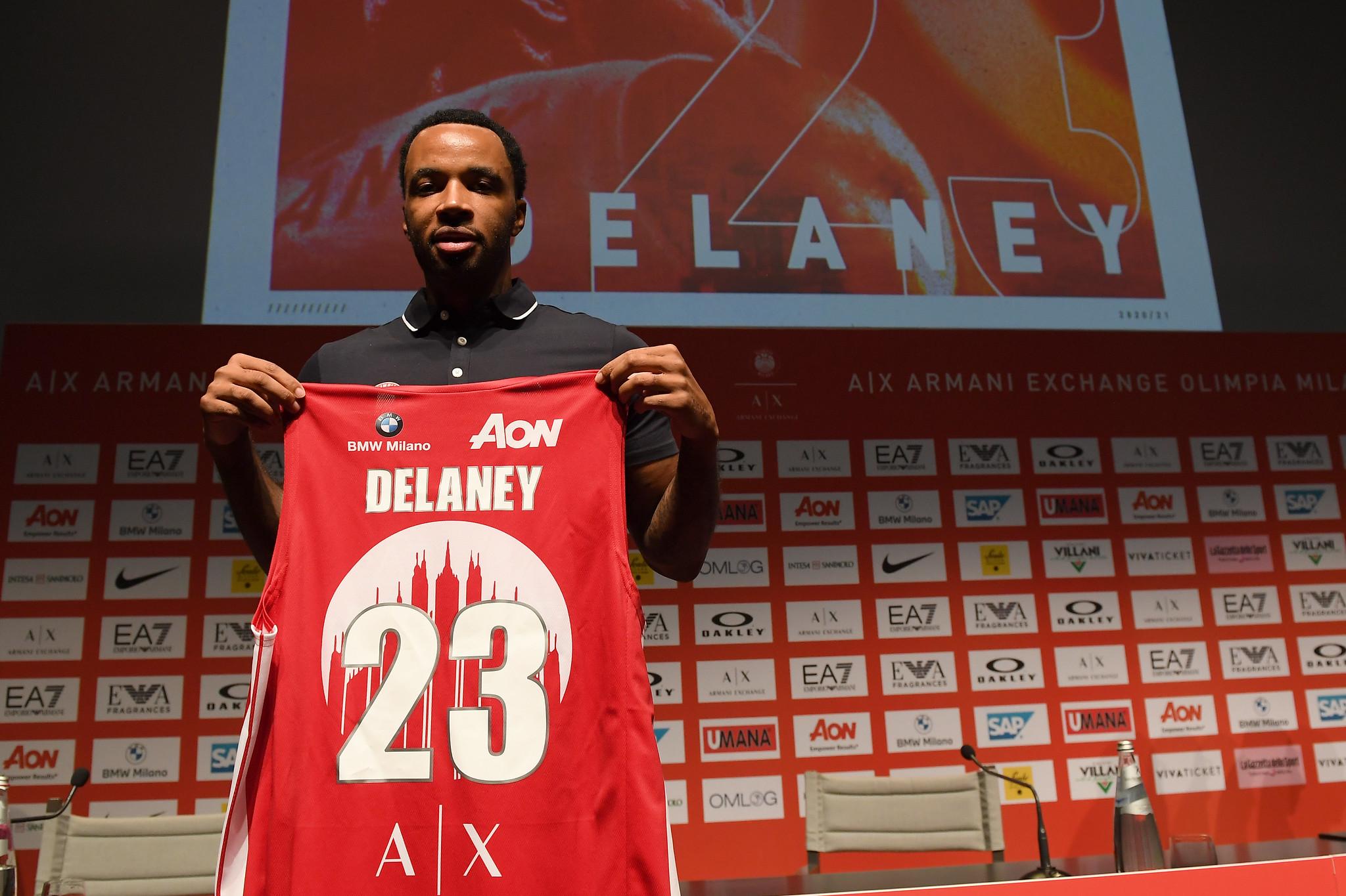 """Malcolm Delaney. """"Sono la miglior guardia in Europa. Con l'Olimpia per vincere l'EuroLeague"""""""