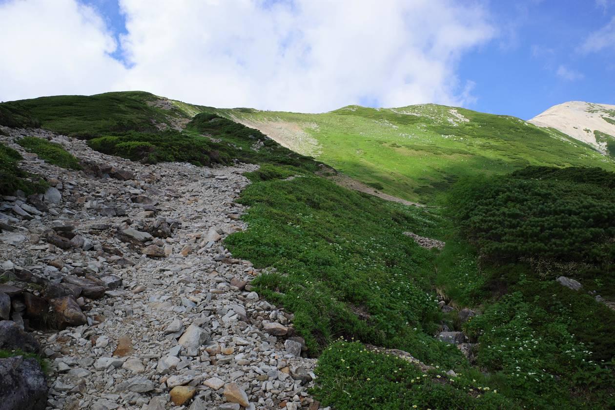北アルプス・薬師岳登山