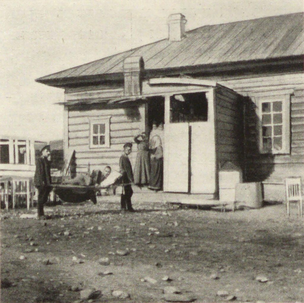 14. Мысовая. Лазарет в Немчиновском доме