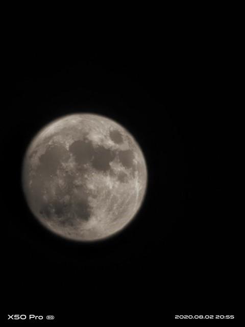 vivo x50 pro moon shot
