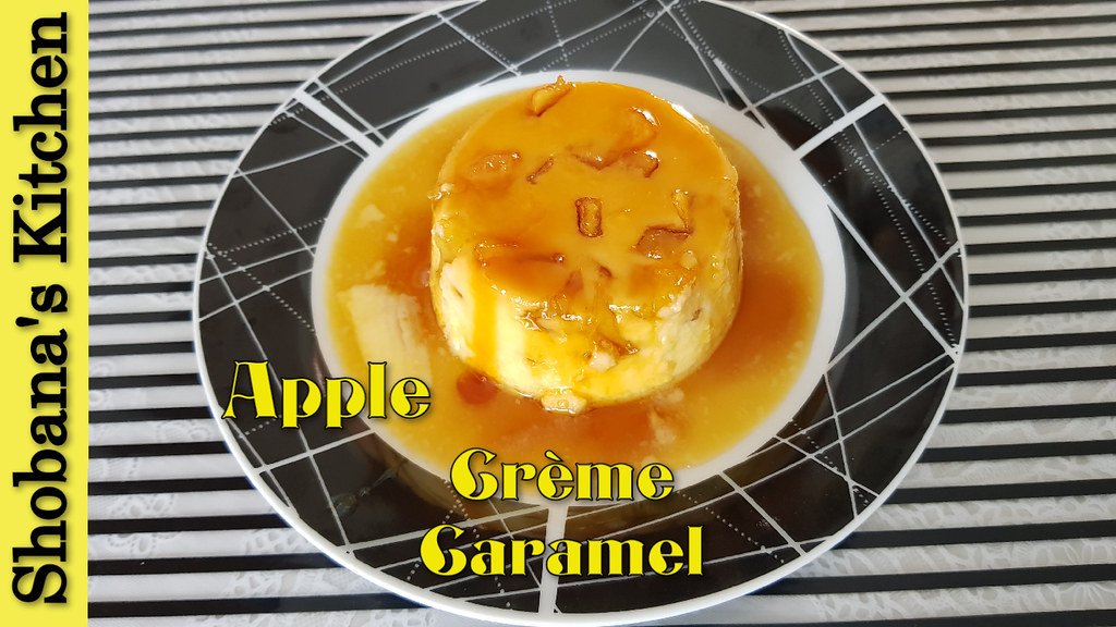 Caramel Apple Pudding Recipe /ஆப்பிள் கேரமல் புட்டிங்/ Easy Caramel Pudding Recipes/Shobanas Kitchen