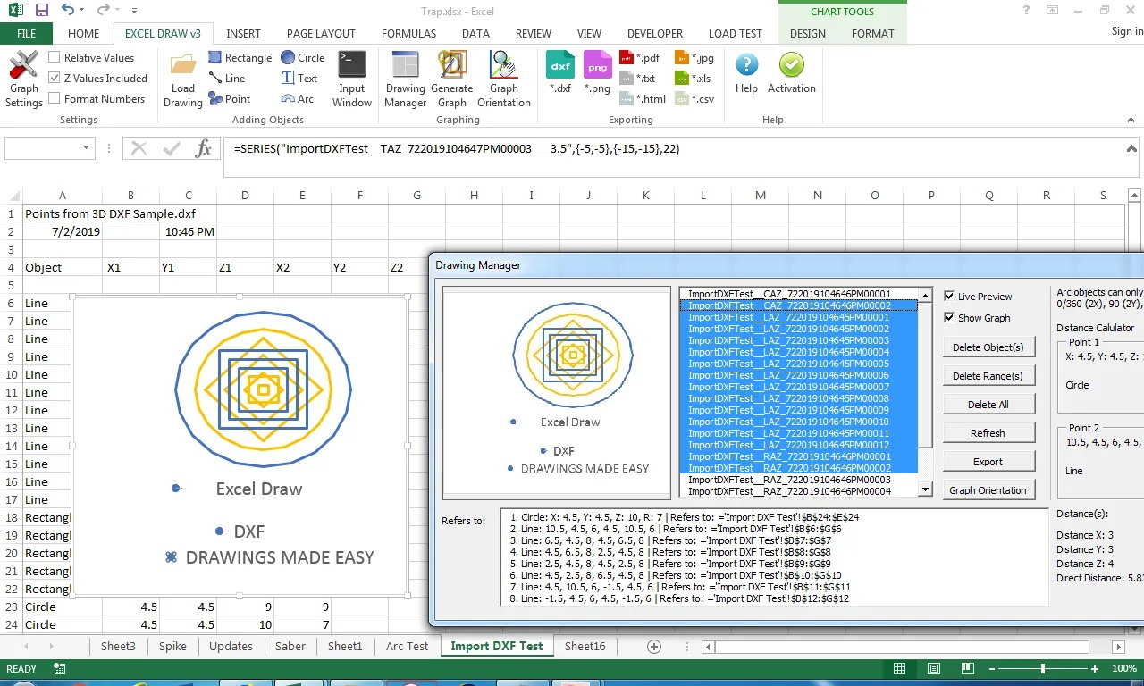 Working with Gray Technical Excel Draw 3.0.9 full