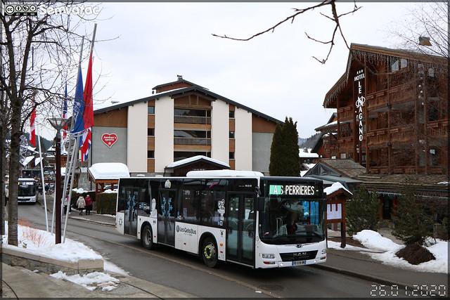 Man Lion's City M – Gavot Tourisme / Les Gets Bus n°196