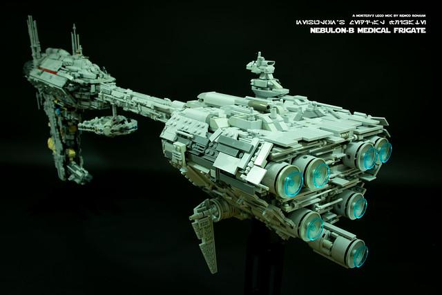 Lego EF76 Nebulon-B Frigate MOC