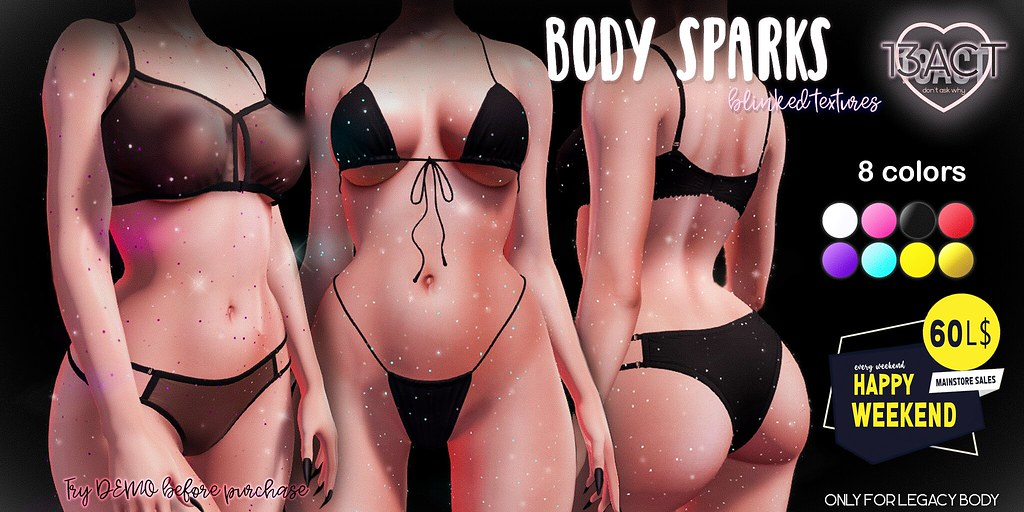 !13ACT – body sparks