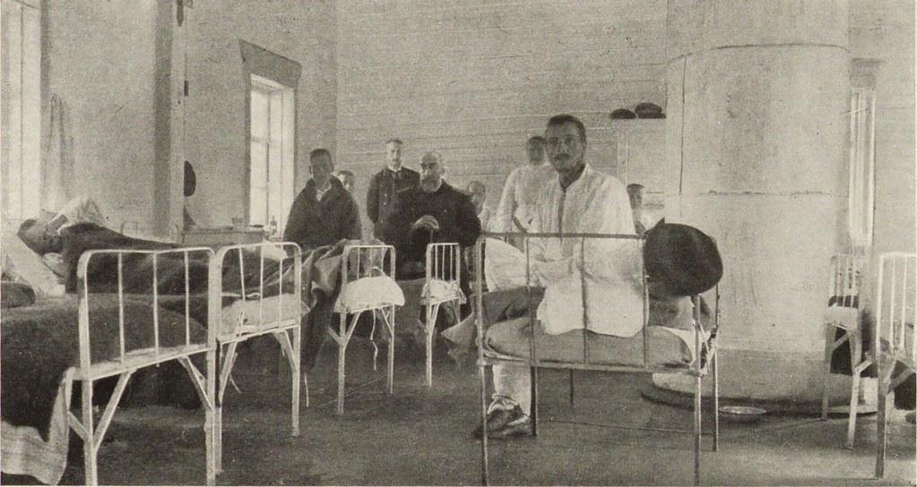 15. Мысовая. Лазарет Красного Креста на переселенческом пункте. Заразное отделение