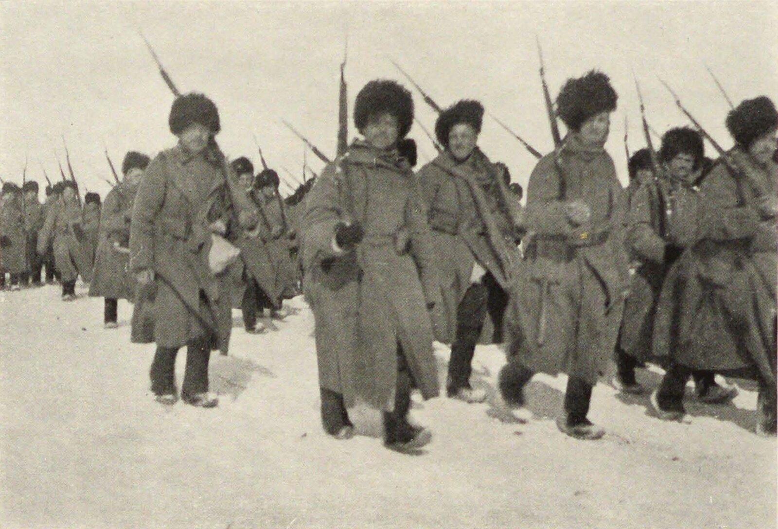 04. Байкал. Переправка войска по льду на Танхой