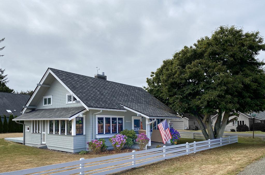 The Zell House, Ocean Park, Wa.