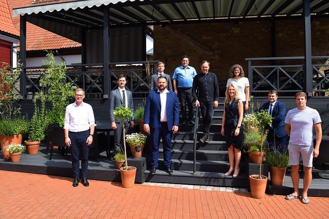 Ekonomikas ministra Jāņa Vitenberga vizīte Cēsīs