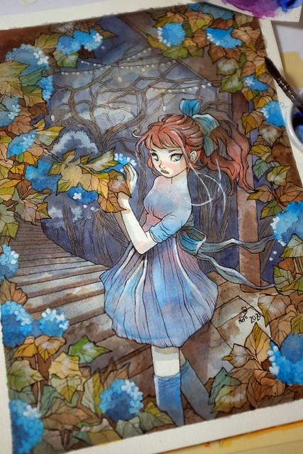 Sea of Hydrangeas