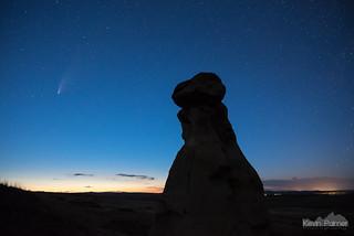 Comet in the Twilight
