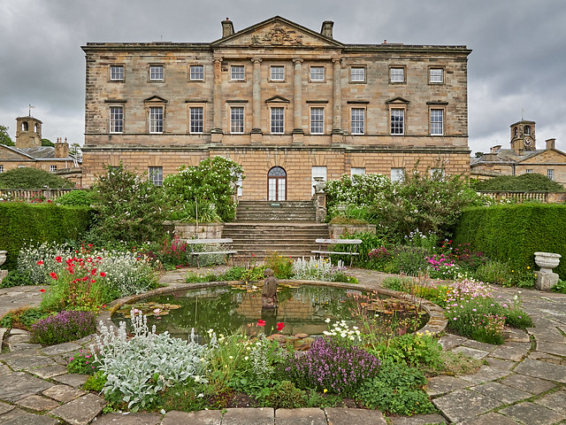 Howick Hall and garden