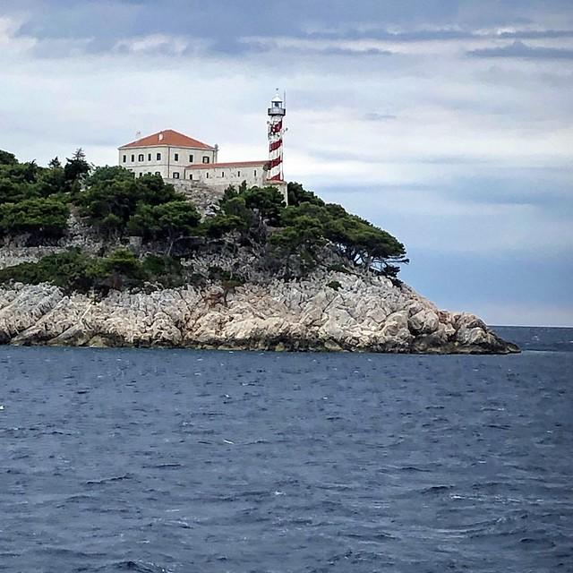 Sestrice lighthouse, Northern Dalmatia