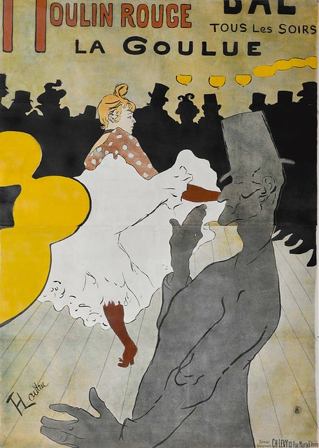 A French lithograph poster
