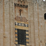Aleppo Citadel (Qal'at Halab) c.10th-15th cent Throne Hall 1406 Mamluk Window (1e)