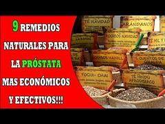 9 REMEDIOS CASEROS para la PRÓSTATA mas económicos y efectivos!!!