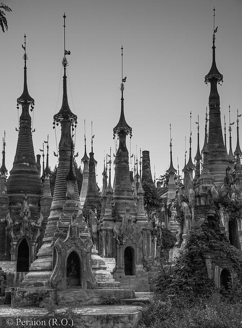 Pagodas, Myanmar