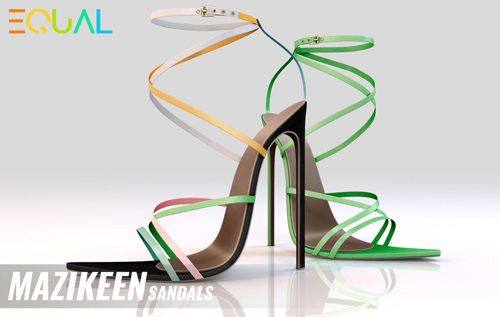 EQUAL – Mazikeen Sandals