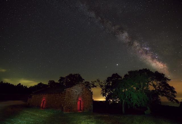 Vía Láctea en Irixoa