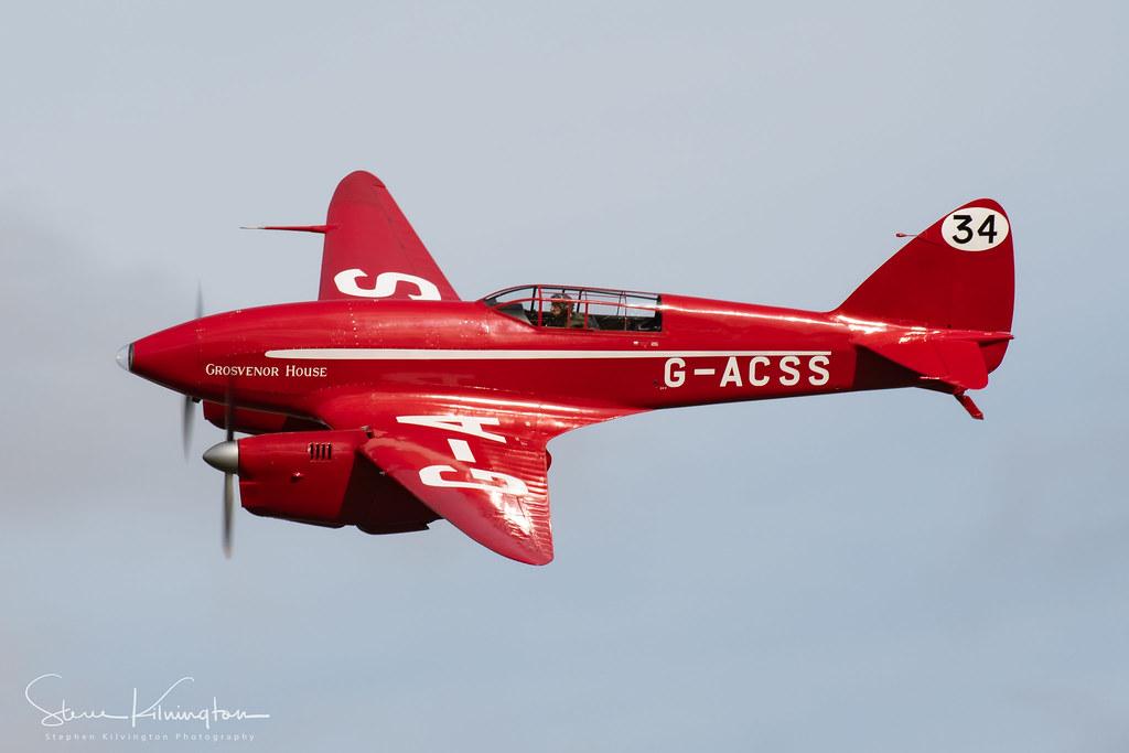 G-ACSS - de Havilland DH88 Comet
