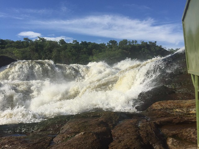 Murchison falls in Uganda