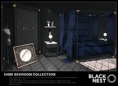 BLACK NEST / Ihme Bedroom Collection / Collabor88