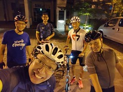 7 Aug night ride