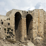 Aleppo Citadel (Qal'at Halab) c.10th-15th cent Entry Complex Ayyubid