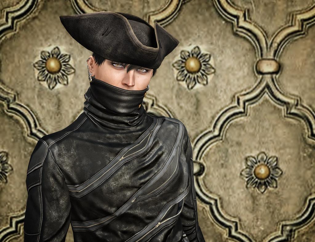 I'm the dandy highwayman, so sick of easy fashion (detail)