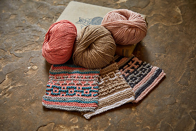 Some colour ideas using Rowan Cotton Cashmere.