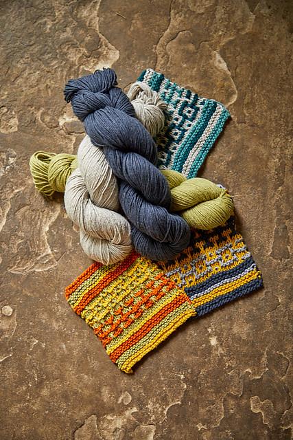 Some colour ideas for the Edith Wrap using Rowan Creative Linen.