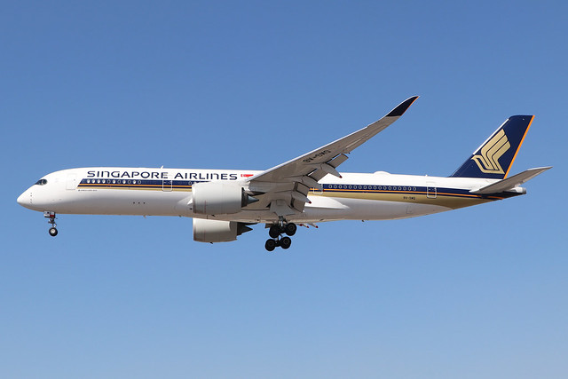 9V-SMQ  -  Airbus A350-941  -  Singapore Airlines  -  LHR/EGLL 7/8/20
