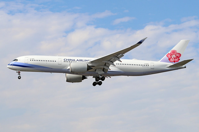 B-18916  -  Airbus A350-941  -  China Airlines  -  LHR/EGLL 7/8/20