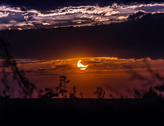 Partial Solar Eclipse - October 23, 2014 - 7:30 PM