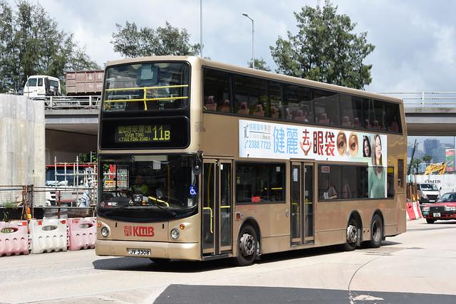 Kowloon Motor Bus 3ASV106 JV3308