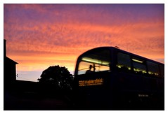 Bus at Sunset!