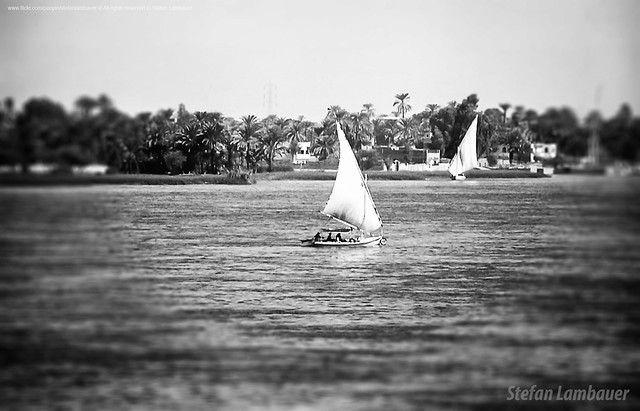 Feluca's trip along the Nile River