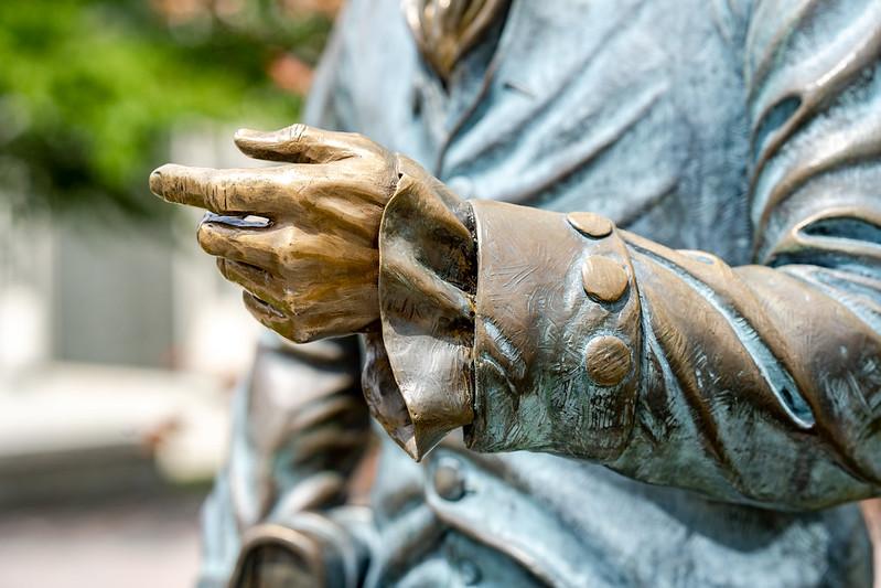 Public Art at JMU: James Madison, Constitution Day
