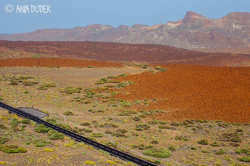 View from El Teide Vulcano, Tenerife, Spain