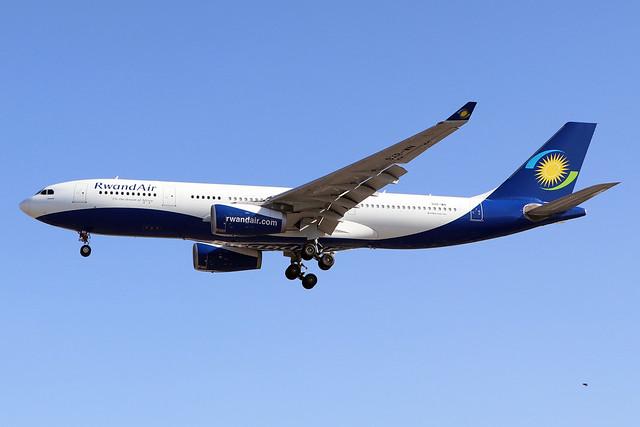 9XR-WN  -  Airbus A330-243  -  Rwandair  -  LHR/EGLL 7-8-20