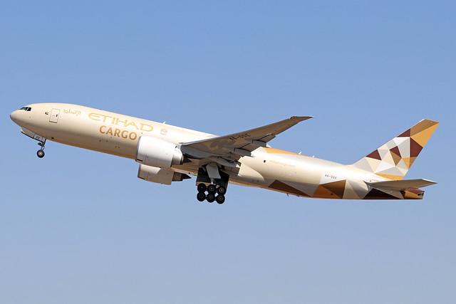 A6-DDE  -  Boeing 777-FFX  -  Etihad Cargo  -  LHR/EGLL 7/8/20