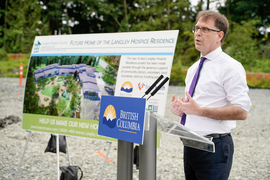 Construction is starting this month on a new 15-room hospice residence in Langley at 219a Street and 52 Avenue.