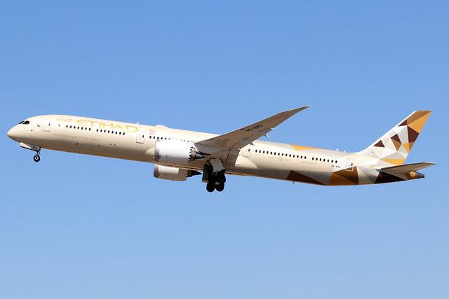 A6-BMG  -  Boeing 787-10 Dreamliner  -  Etihad Airways  -  LHR/EGLL 7/8/20