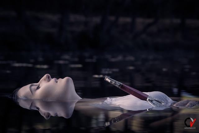 La dama del Lago. Reflejo de Luna.