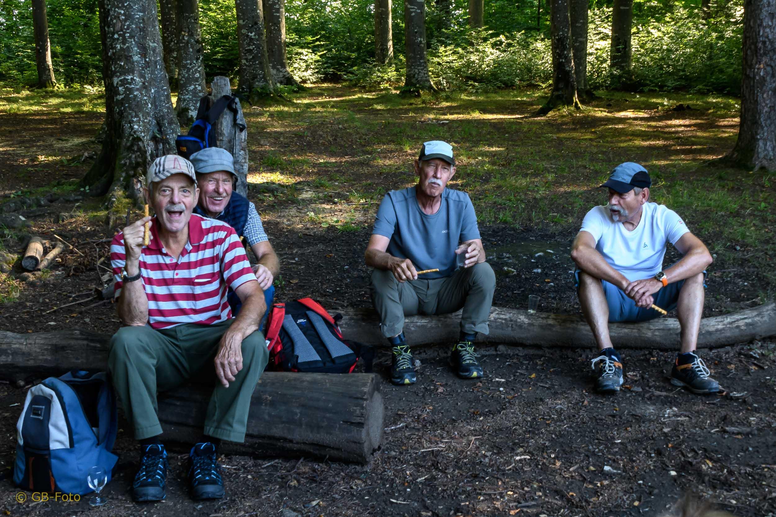 Seniorenwanderung Hochwald - Arlesheim 06.08.2020