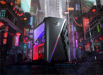 For demanding workloads like content creation and heavy duty multitasking, the ROG Strix G35 features up to Intel Core i9 processor.