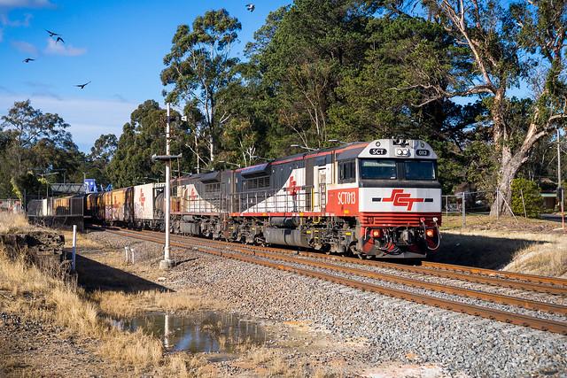 Semaphore & Container Train